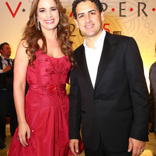 Ingrid Yrivarren y Juan Diego Florez