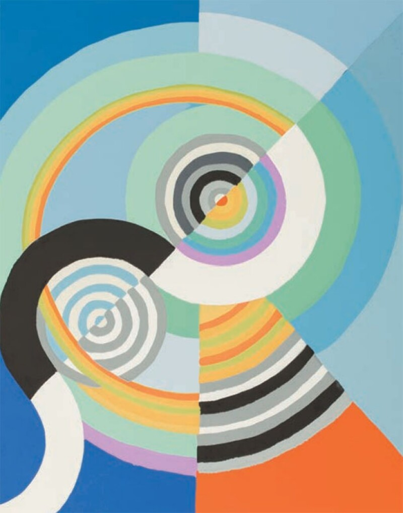 Robert Dealaunay, Ritmo tres