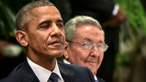 Obama es el primer presidente de Estados Unidos en visitar Cuba en 88 años. (Foto: AFP )