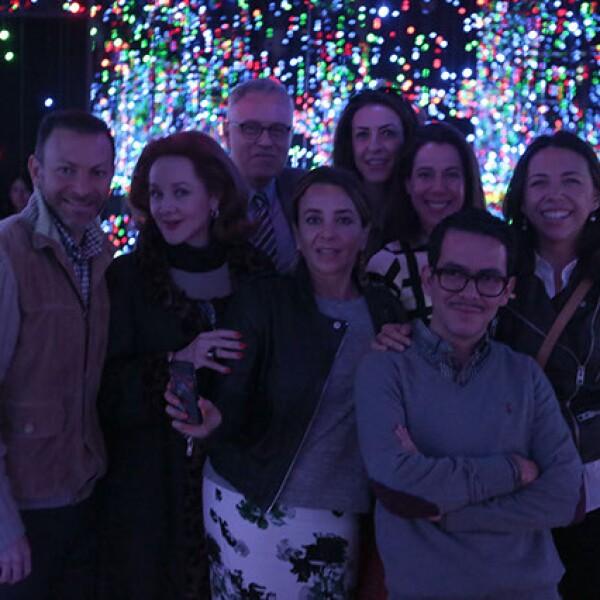David Cohen, Patricia Barrios Gómez, Ramón Corona, Ruth Ovseyevitz, Laura Manzo, Luisa Serna, Manolo Caro