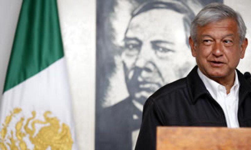 Andrés Manuel López Obrador sostuvo que su campaña ha sido austera. (Foto: Notimex)