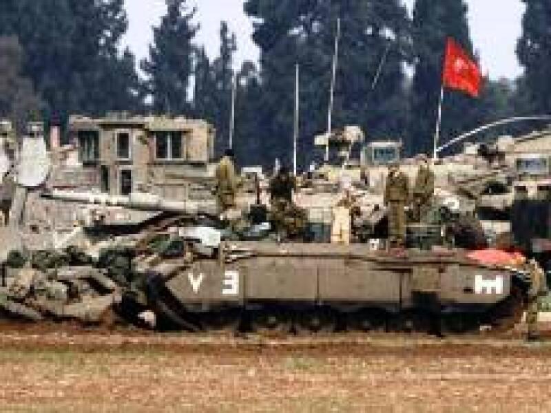 Soldados de Israel se preparan para posible ataque terrestre a Gaza. (Foto: Reuters)