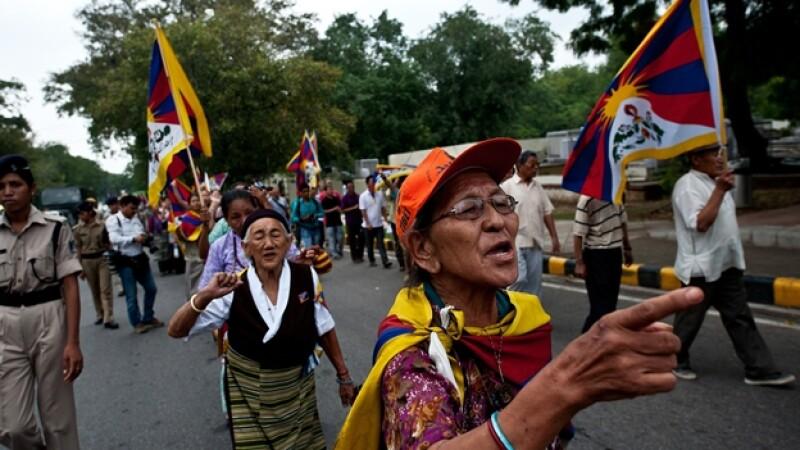 tibet protestas monje inmolacion china dalai lama