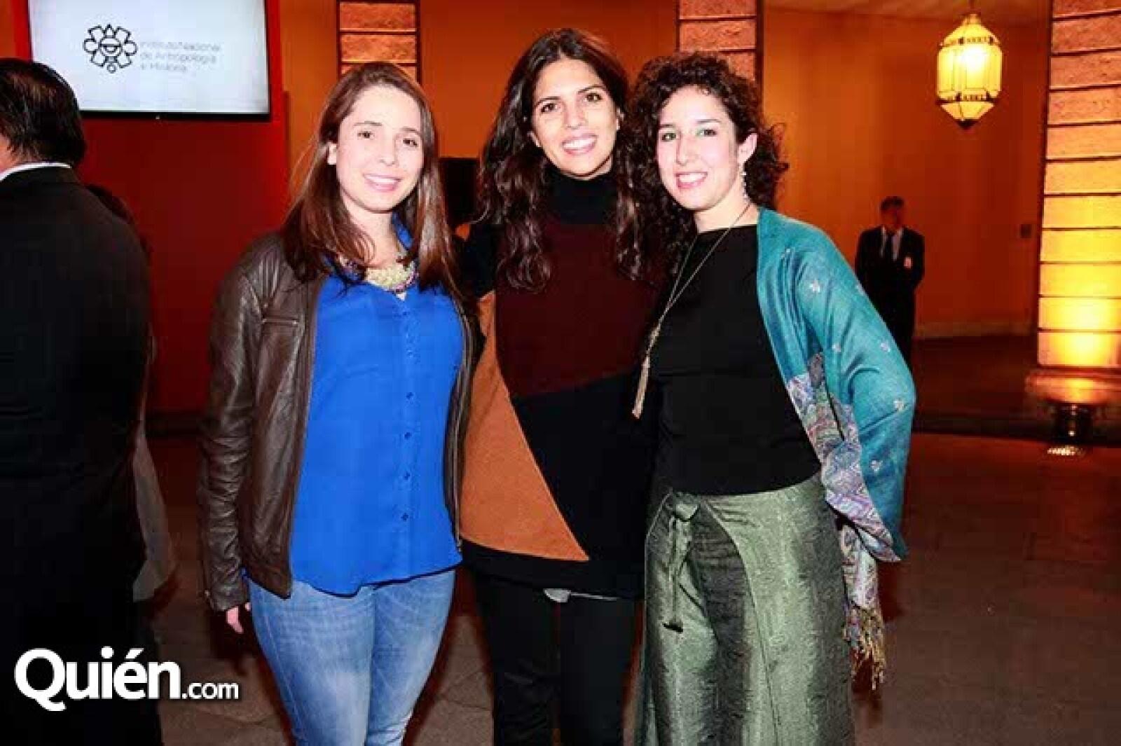 Othiana Roffiel,Andrea Villers y Andrea Bustillos