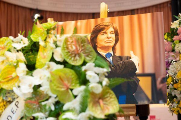 Funeral de Camilo Sesto