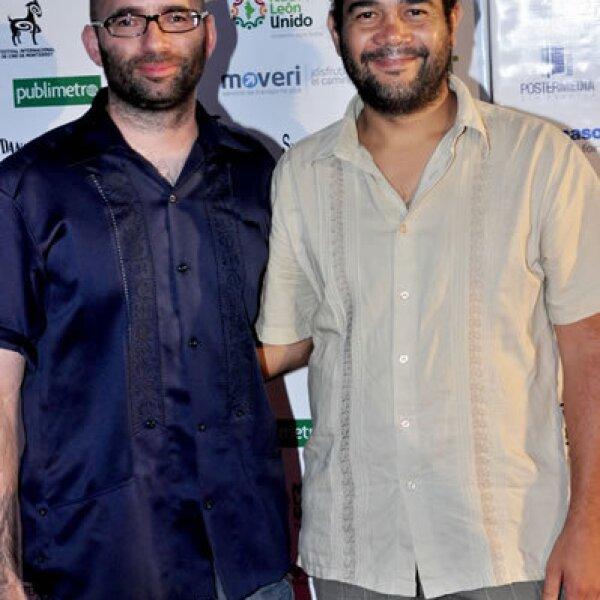 Emiliano Altuna y Hatuey Viveros