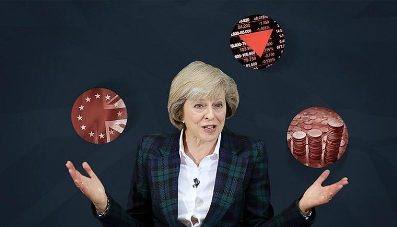 May asume el control de Reino Unido en el momento de más turbulencia desde la Segunda Guerra Mundial.
