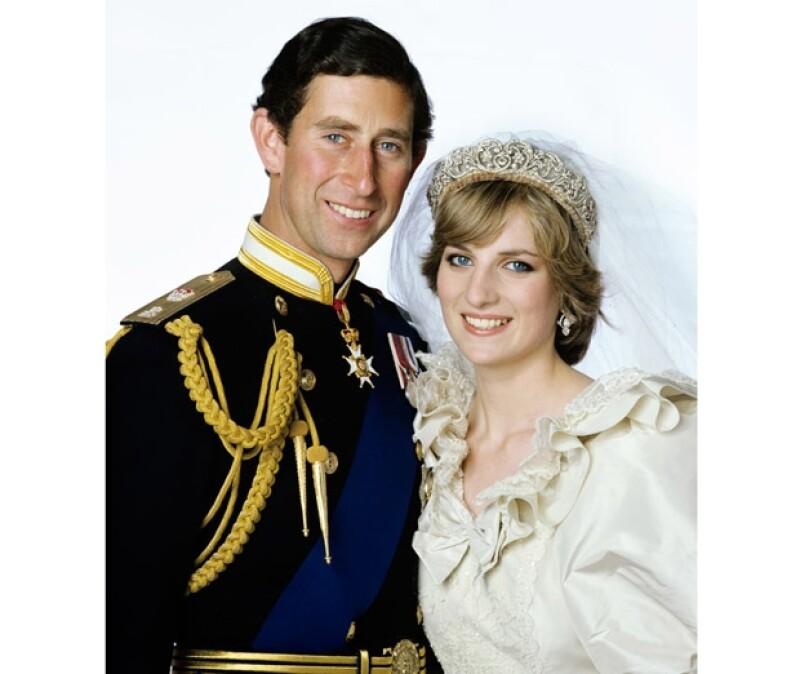 Carlos y Diana tuvieron dos hijos: Guillermo y Enrique.