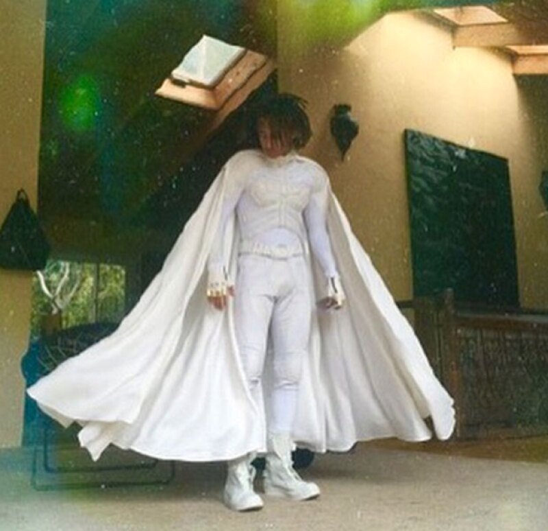 El disfraz fue el mismo que llevó a la boda de Kim y Kanye.