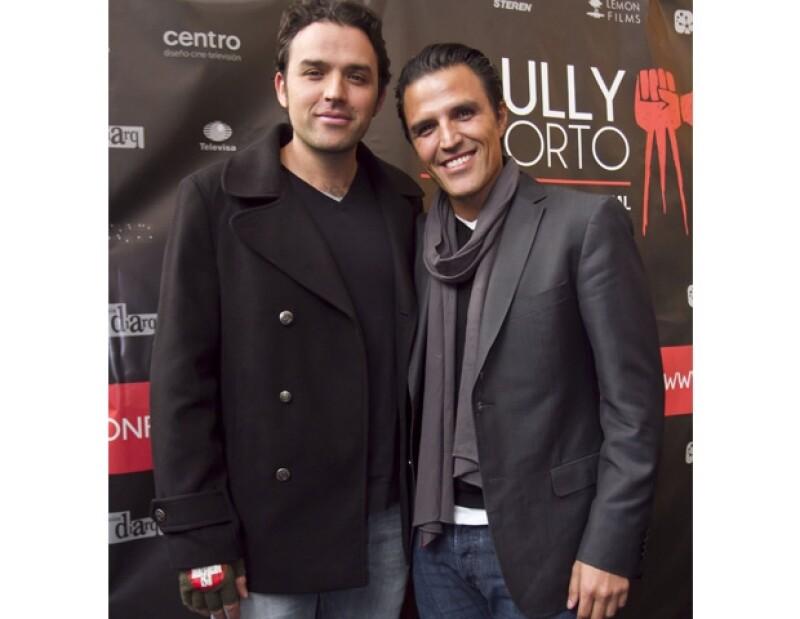 Fernando y Billy Rovzar.
