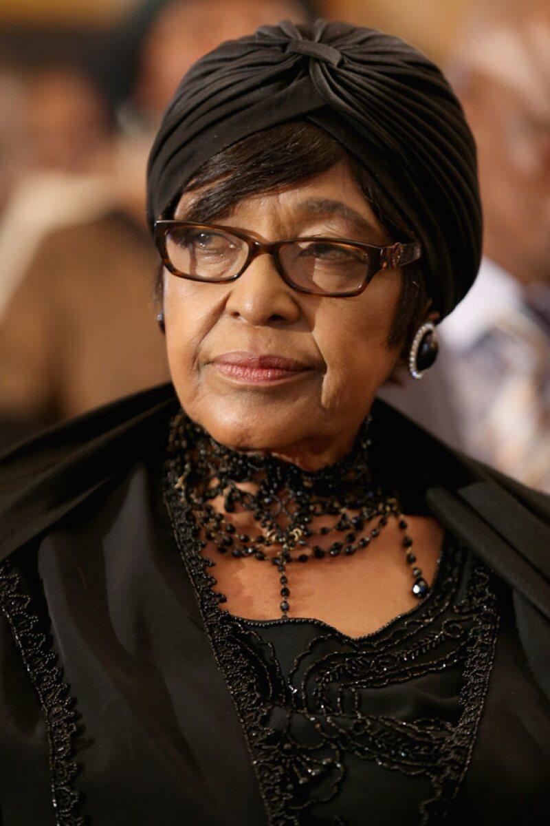 Ha sido la  viuda de Nelson, Winnie, ha sido quien interviniera para que su nieto no fuese llevado a la cárcel.
