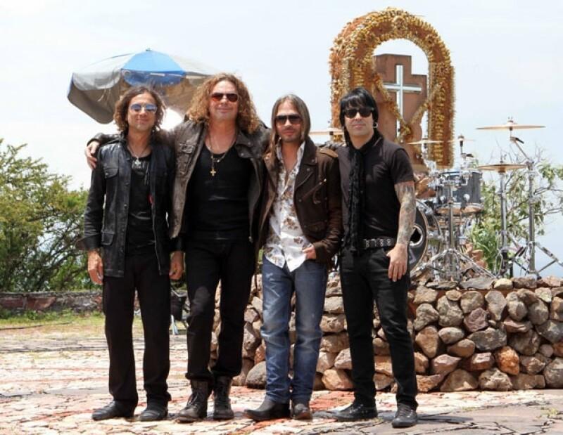 El grupo Maná puso su esencia de rock, ritmos dinámicos y letras variadas en la jornada inicial del festival Rock in Río Madrid 2012.