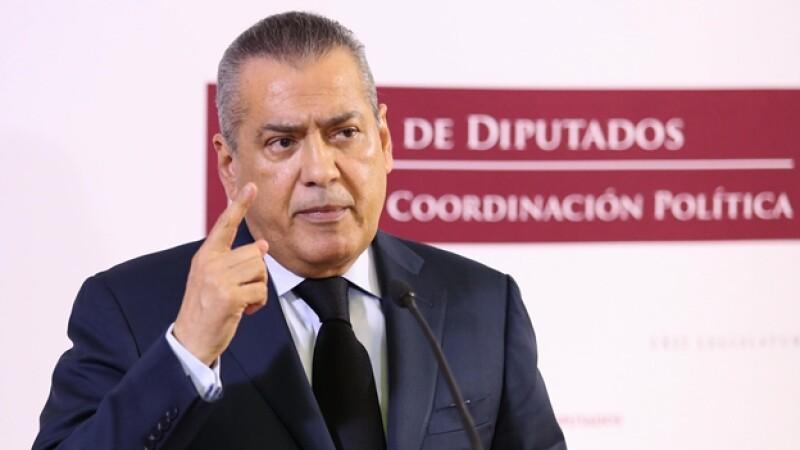 Manlio Fabio Beltrones, presidente de la Junta de Coordinación Política de la Cámara de Diputados