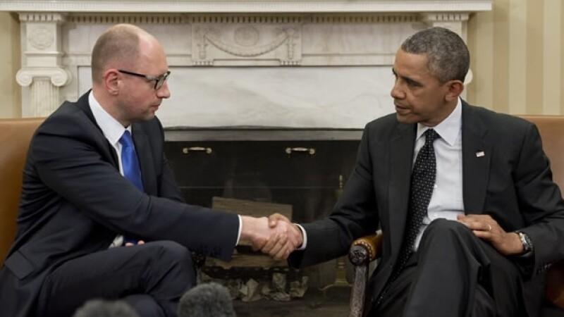 Arseniy Yatsenyuk Barack Obama