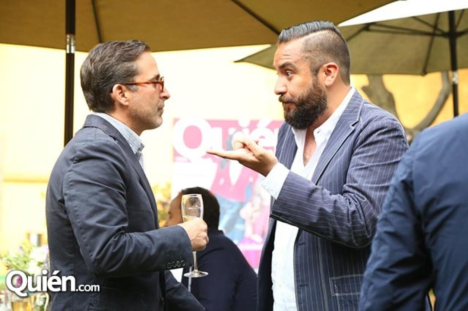 Moisés Micha y Juan Carlos Campos