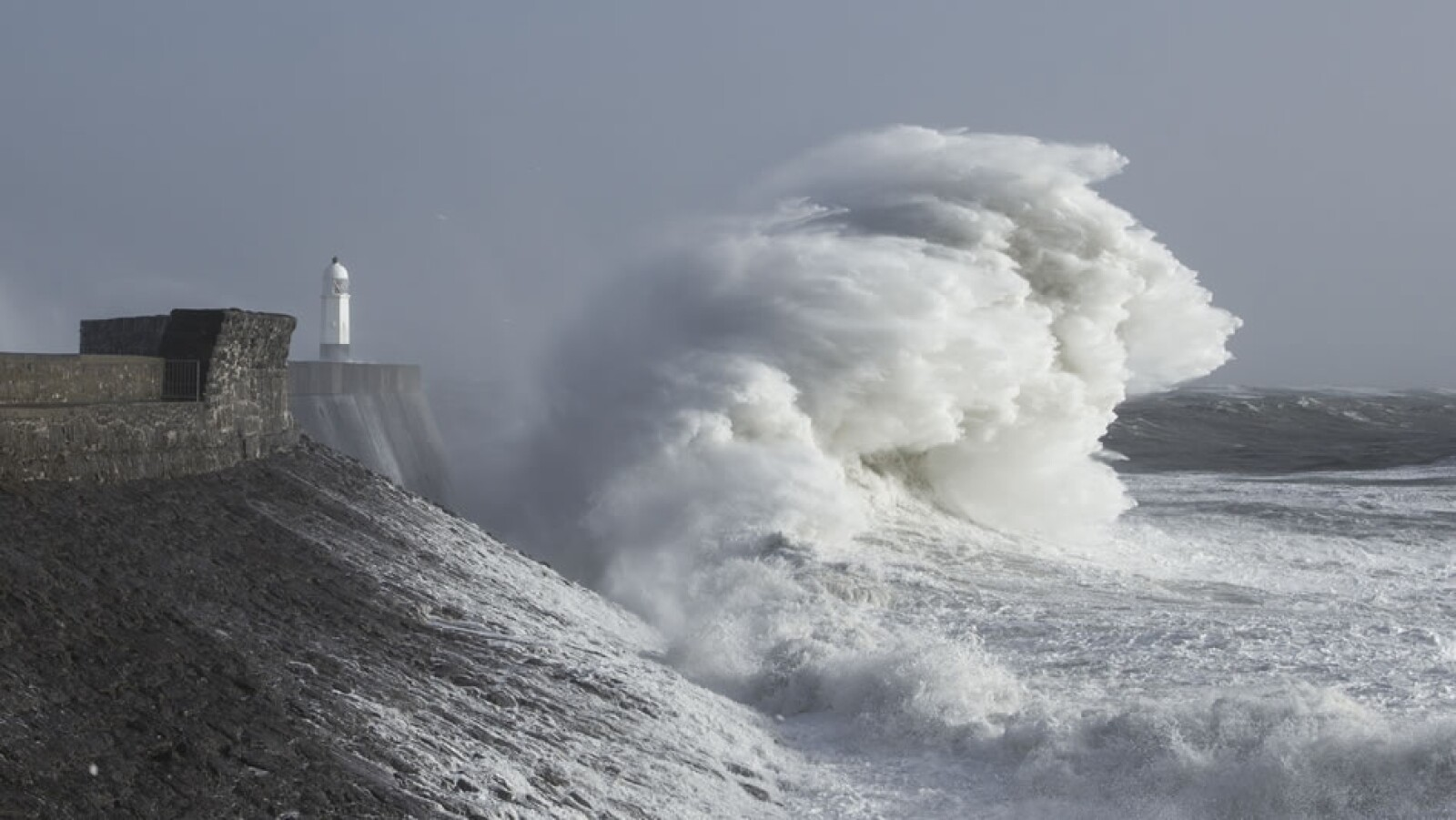 porthcawl, gales
