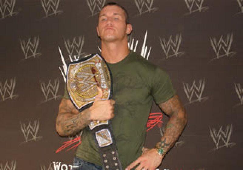 A sus 29 años, Orton es campeón de la WWE. (Foto: Especial)