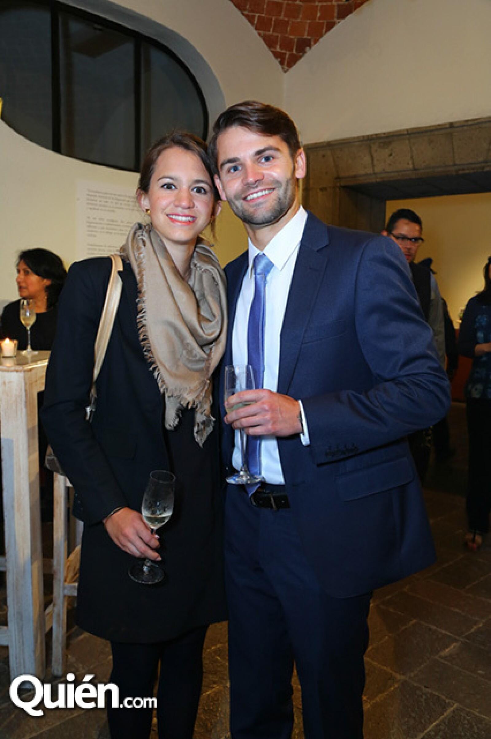Paola Rebollar y Dirk Priebe