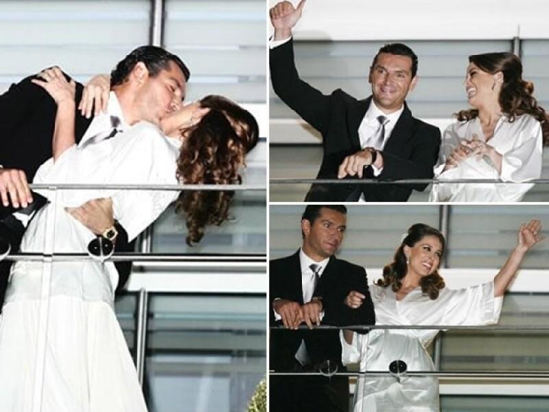 Jacky y Martín se casaron por lo civil el pasado 3 de septiembre.