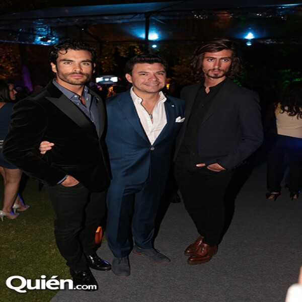 Gonzalo García Vivanco, Ricardo Serrano, Kris Goyri