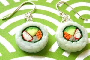 sushi japon alimentos artesanias objetos