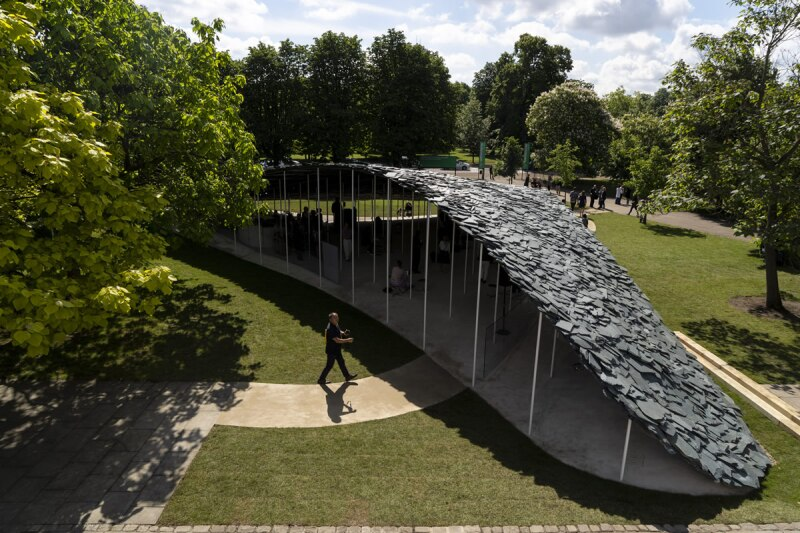 Pabellón galería Serpentine - Londres
