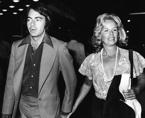 Neil Diamond y Marcia Murphey
