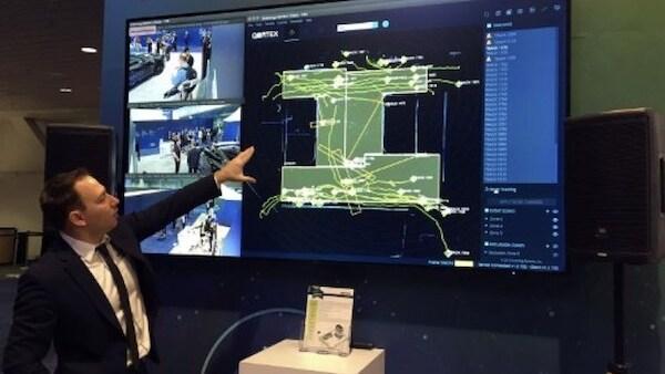 Sistema de detección láser de la empresa QuanergySystems para vigilancia