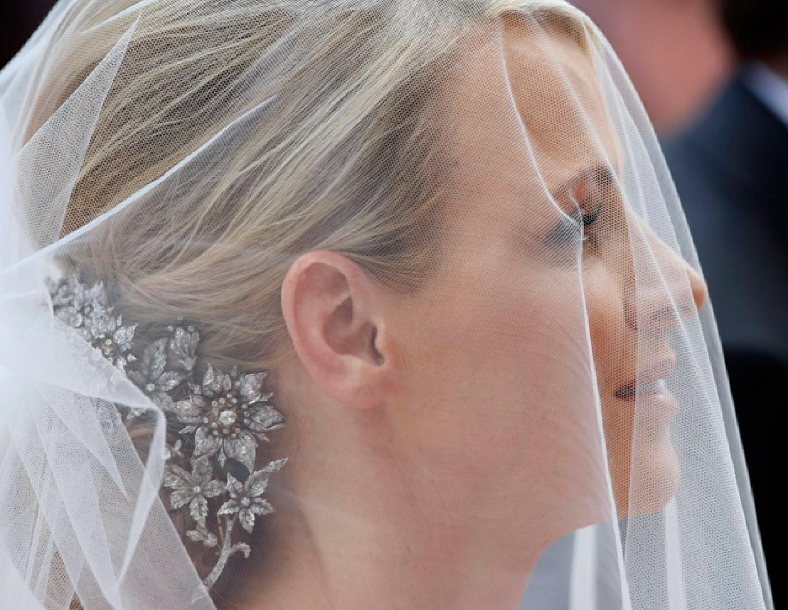 La bella novia, Charlene Wittstock.