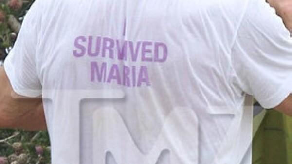 Arnold Schwarzenegger fue captado con una camiseta que enviaba un mensaje a María Shriver.