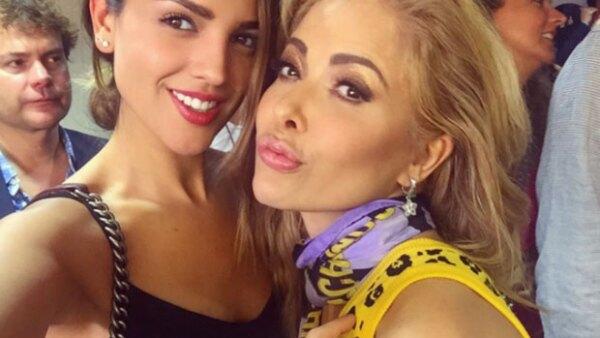 Ahora que Gloria Trevi presentó su nuevo disco en Los Ángeles, la actriz mexicana fue una de las invitadas de honor y así lo presumió en Instagram.