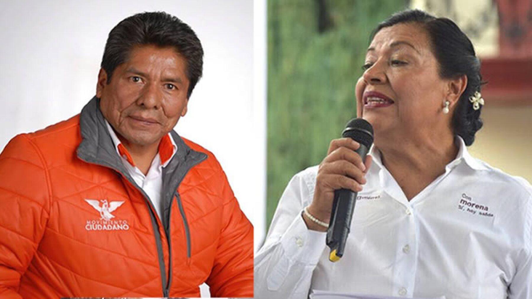 Los candidatos de Morena han coincidido en sus actividades proselitistas en dar atención al combate a la pobreza y la atracción de inversiones.