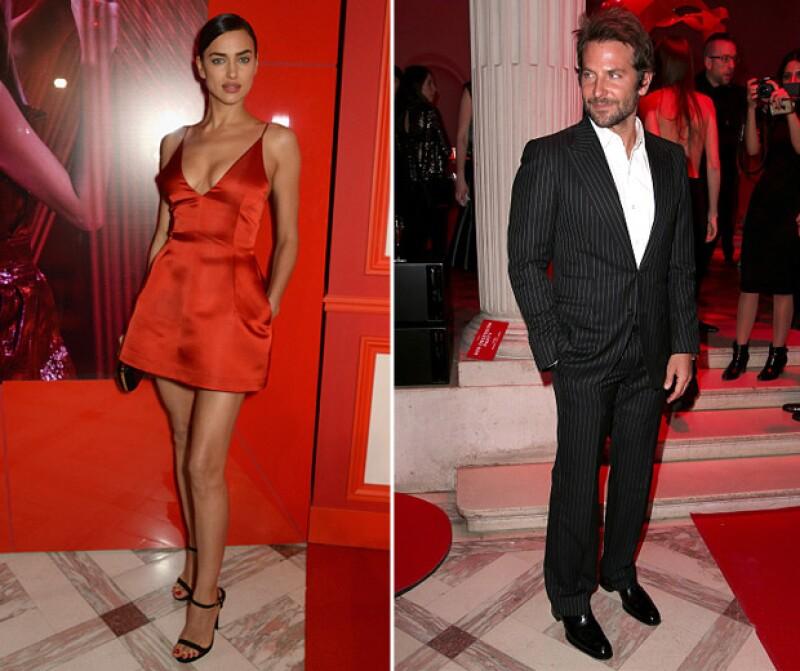 Bradley e Irina fueron una de las parejas más hot de la noche.