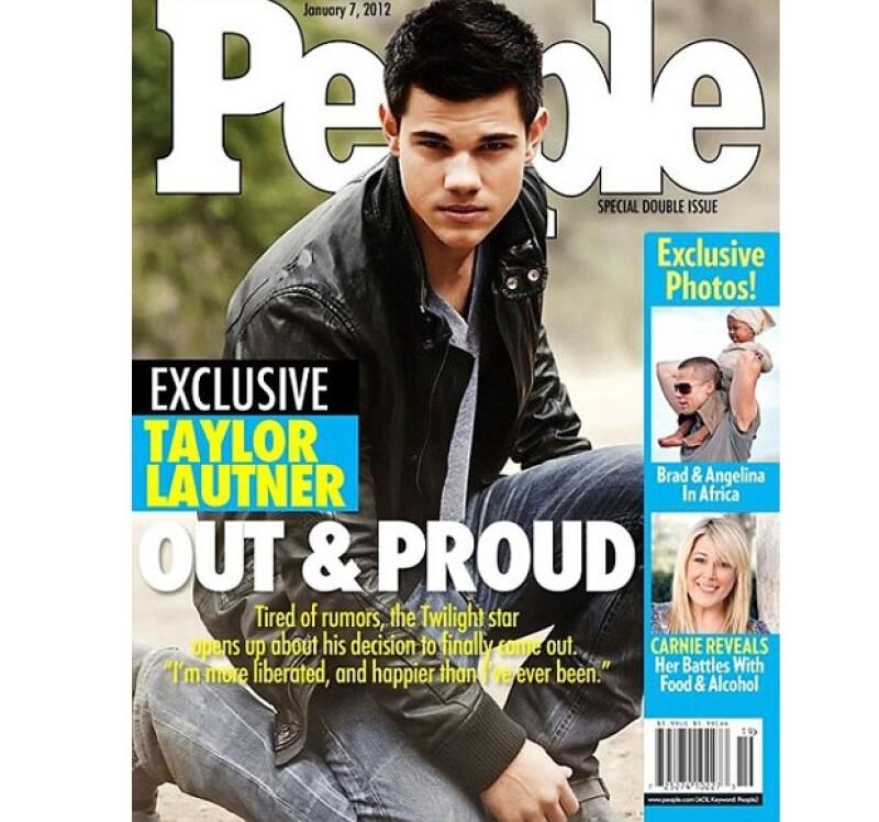 El actor pronto se convirtió en tema en internet luego de que se publicara una falsa portada de People donde supuestamente él confesaba ser gay.