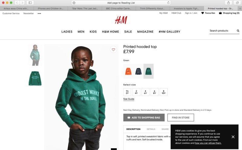 Campaña H&M.