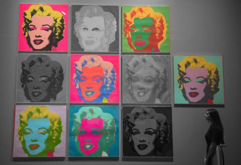 Andy-Warhol-Marilyn-Muses