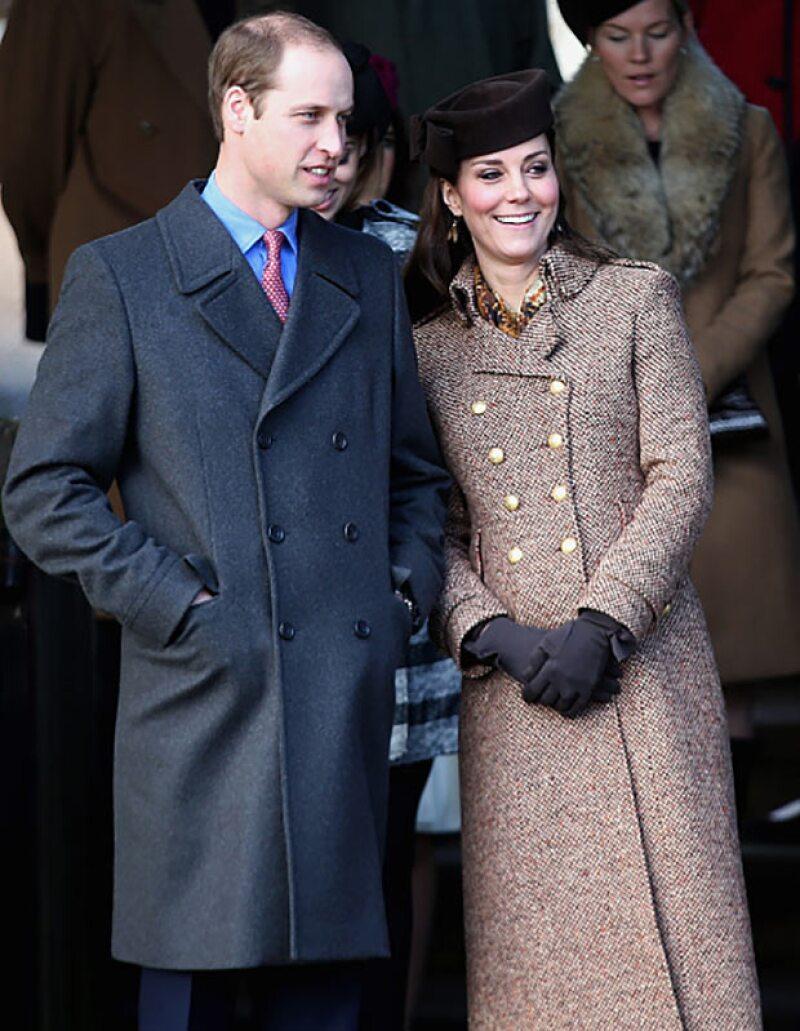 Kate Middleton y el príncipe William serán padres por segunda ocasión el próximo año.