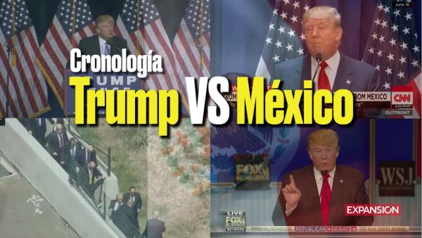 Trump vs México