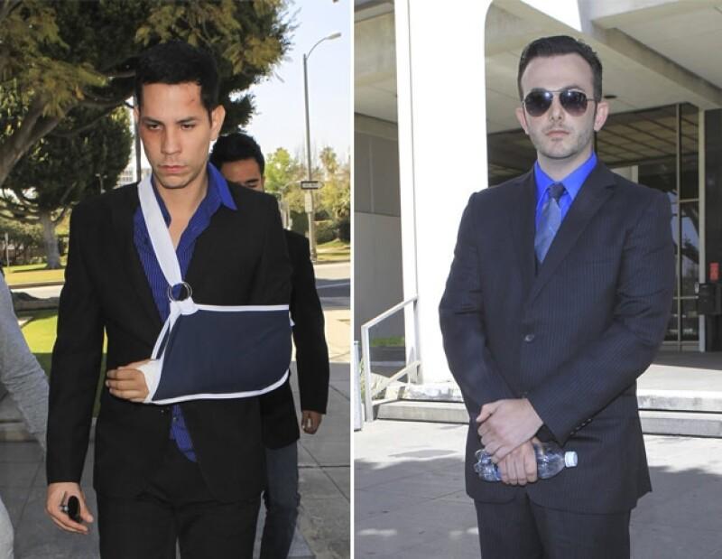 Recientemente Christian Chávez estuvo en vuelto en una pelea con su ahora ex novio y terminaron en los juzgados. Ellos no son los únicos que han pasado por algo similar.