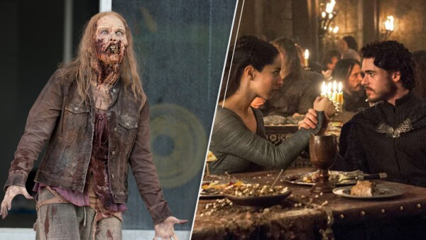 The Walking Dead y Game of Thrones
