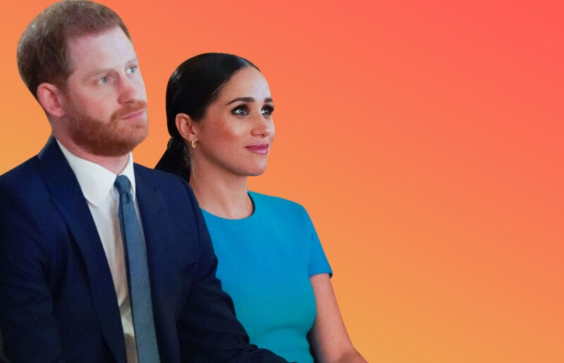 Meghan y Harry The Crown