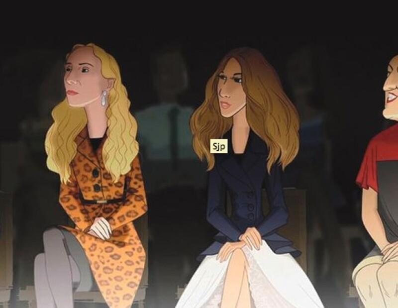 Ambas son famosas, extravagantes y son iconos de moda, por ello es que las seleccionaron para aparecen en un cortometraje de animación.