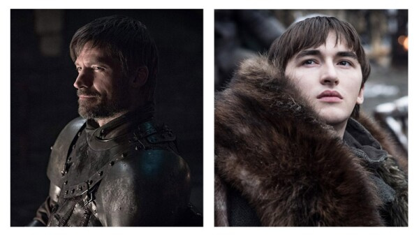 Jaime Lannister y Bran Stark