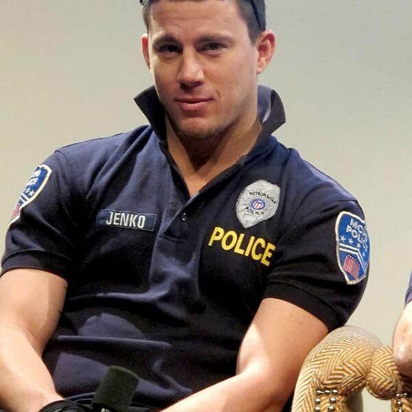 Channing Tatum como un despistado policía en 21 Jump Street.