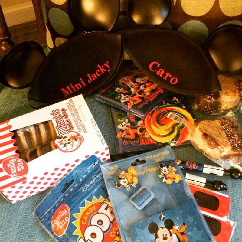 Estos fueron algunos de los regalos exclusivos para sus pequeñas, traídos de Disney.
