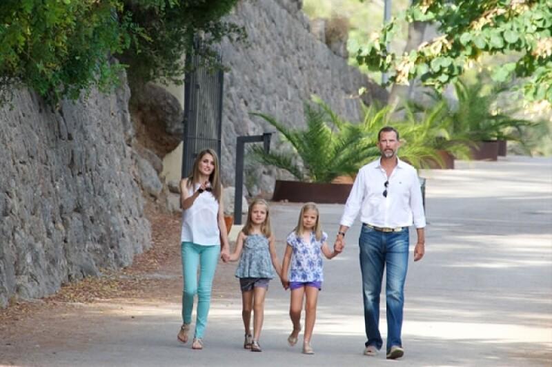 La Familia Real acostumbra a visitar Mallorca cada año.