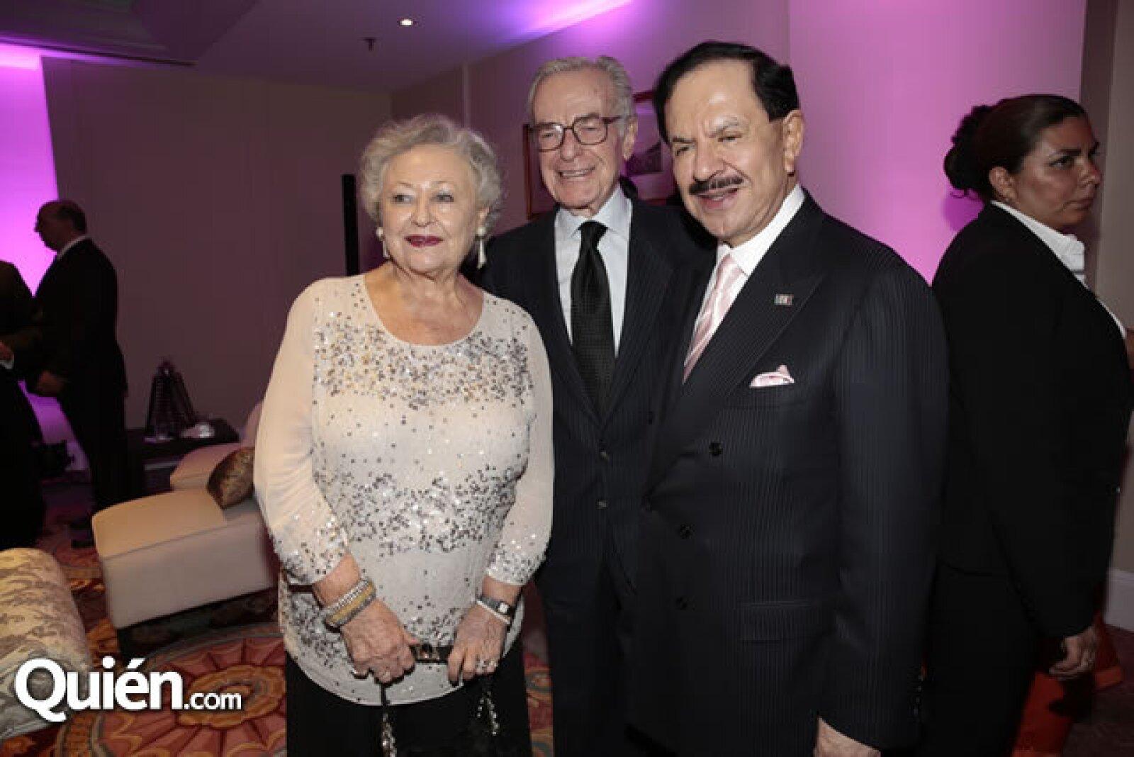 Sarita de Zabludovsky,Jacobo Zabludovsky,Juan Francisco Ealy Ortiz