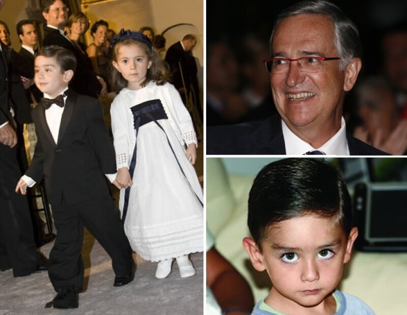 Miguel Ángel Mancera, Arturo Elías y Alejandro Fernández además de compartir el nombre con sus padres, tienen sus mismas facciones, son su vivo retrato.