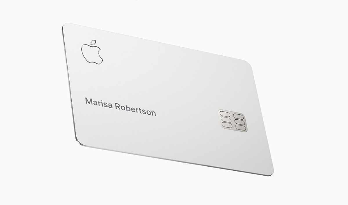 La Apple Card se lanzará en agosto