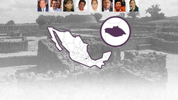 Candidatos al gobierno de Tlaxcala (Foto: Ilse Domínguez)